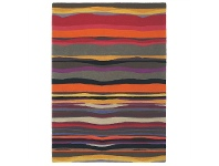 LivingStyles Brink and Campman Estella Summer Hand Tufted Wool Rug, 280x200cm, Sunset