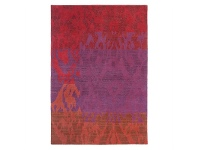LivingStyles Brink & Campman Himali Charm Hand Knotted Wool Rug, 300x200cm, Berry