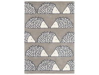 LivingStyles Scion Spike Hand Tufted Designer Wool Rug, 180x120cm, Pumice