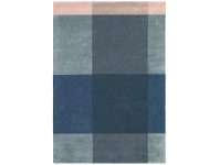 LivingStyles Ted Baker Plaid Hand Tufted Desinger Wool Rug, 240x170cm, Grey