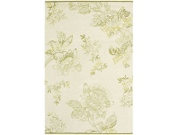 LivingStyles Wedgwood Tonquin Hand Tufted Designer Wool Rug, 280x200cm, Cream