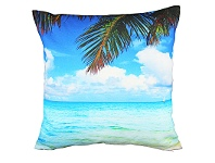 LivingStyles Set of 2 Mission Beach Fabric Cushions