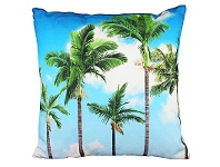 LivingStyles Set of 2 Palm Cove Fabric Cushions