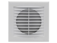 LivingStyles Fresno Wall/Window Square Exhaust Fan, 12W