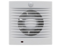LivingStyles Bairstow Wall/Window Square Exhaust Fan with Sensor, 12W