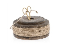 LivingStyles Flat Spool with Twine and Scissors