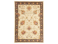 LivingStyles Byblos Classic Egyptian Made Oriental Rug, 230x160cm, Cream