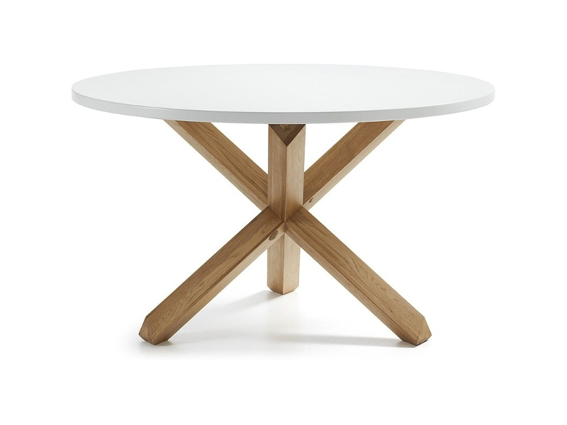 Tompion Wooden Round Dining Table, 120cm