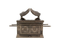 LivingStyles Veronese Cold Cast Bronze Coated The Ark of the Covenant Treasure Box