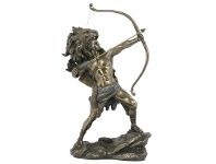 LivingStyles Veronese Cold Cast Bronze Coated Greek Mythology Figurine, Hercules