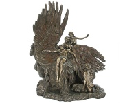 LivingStyles Veronese Cold Cast Bronze Coated Figurine, The Lament for Icarus by Herbert James Draper