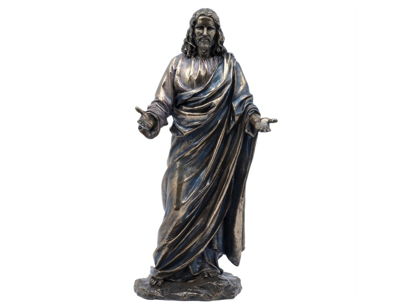 Veronese Cold Cast Bronze Coated Figurine, Jesus Christ