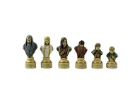 LivingStyles Veronese Lord of The Rings Figurine Chess Set