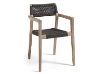 LivingStyles Rhodesia Stackable Indoor/Outdoor Dining Armchairs