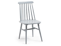 LivingStyles Tudor Wooden Dining Chairs, Light Grey