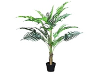 LivingStyles Artifical Acrea Palm in Pot - Large