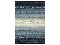LivingStyles Calypso One Tribe Egyptian Made Modern Rug, 290x200cm, Blue