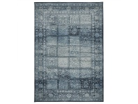LivingStyles Calypso Paradise Heritage Egyptian Made Modern Rug, 230x160cm, Blue