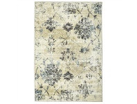 LivingStyles Calypso Florence Heritage Egyptian Made Modern Rug, 290x200cm, Ivory