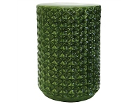LivingStyles Delis Ceramic Round Side Table / Stool