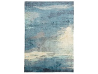 LivingStyles City Impression Modern Rug, 220x150cm, Blue