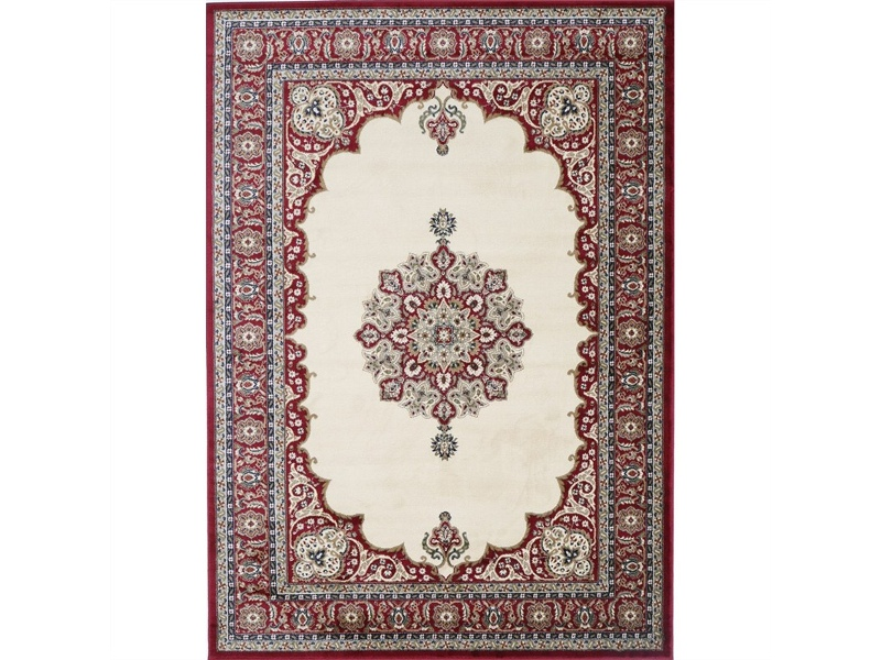 Gold Eniz Turkish Made Oriental Rug, 120x170cm, Cream