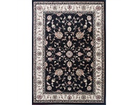 LivingStyles Gold Kiraz Turkish Made Oriental Rug, 160x230cm, Black