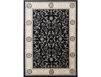 LivingStyles Gold Ece Turkish Made Oriental Rug, 160x230cm, Black
