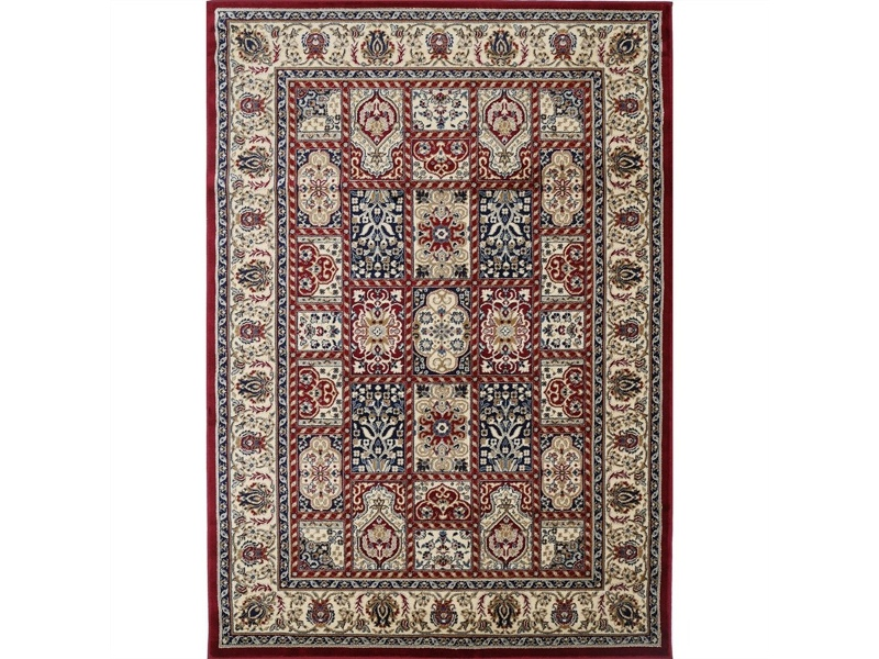 Classica Turkish Made Oriental Rug, 200x290cm, Red