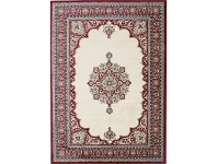 LivingStyles Gold Eniz Turkish Made Oriental Rug, 200x290cm, Cream