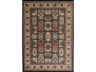 Classica Turkish Made Oriental Rug, 240x330cm, Black