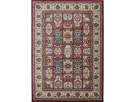 LivingStyles Classica Turkish Made Oriental Rug, 80x150cm, Red