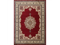 LivingStyles Gold Feray Turkish Made Oriental Rug, 80x150cm, Red