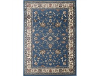 LivingStyles Gold Kiraz Turkish Made Oriental Rug, 80x150cm, Blue