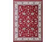 LivingStyles Gold Kiraz Turkish Made Oriental Rug, 80x150cm, Red