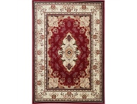 LivingStyles Gold Sidika Turkish Made Oriental Rug, 80x150cm, Red