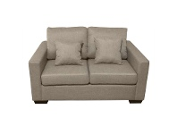 LivingStyles Club Fabric 2 Seater Sofa - Taupe