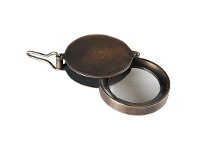 LivingStyles Discovery Solid Brass Magnifying Glass