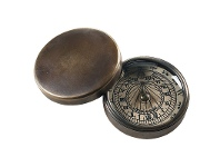 LivingStyles Tradewinds Solid Brass Compass