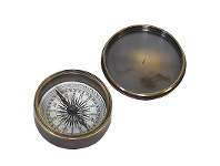 LivingStyles Victorian Pocket Compass