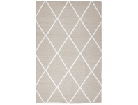 LivingStyles Coastal Diamond 150x220cm Indoor/Outdoor Rug - Taupe