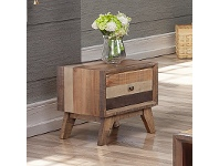 LivingStyles Caiden Wooden Lamp Table