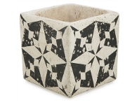 LivingStyles Claremont II Cement Planter - Small