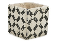 LivingStyles Claremont III Cement Planter - Small