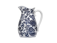 LivingStyles Paisley Blue & White Ceramic Jug