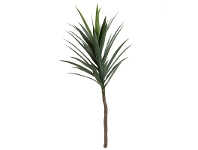 LivingStyles Artificial Yucca Stem with 36 Leaves