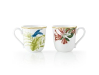 LivingStyles Noritake Hummingbird Meadow 4 Piece Mug Set
