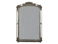 LivingStyles Parisa Steel Frame 117cm Decorative Mirror