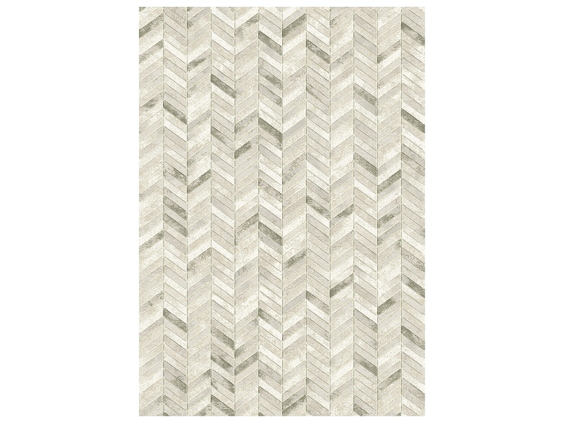 Eclipse Zane Belgian Made Modern Rug, 170x120cm, Cream