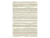 LivingStyles Eclipse Moses Belgian Made Modern Rug, 230x160cm, Cream